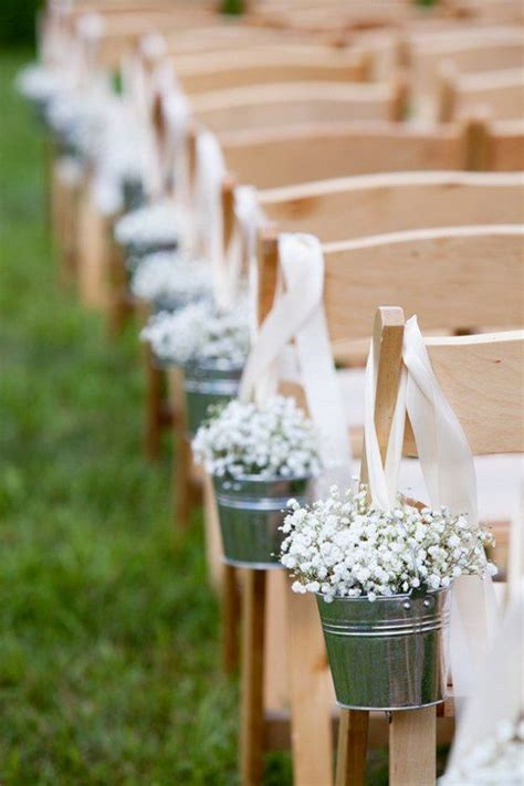Baby S Breath Wedding Aisle by 33 Summer Wedding Aisle D 233 Cor Ideas Weddingomania