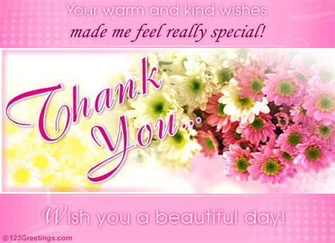 A Bouquet Of Thanks  Free Thank You eCards, Greeting