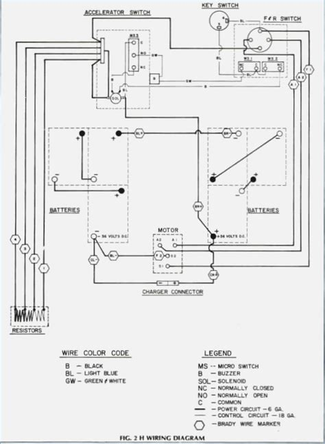 wiring diagram of ez go gas golf cart 1997 ez go wiring