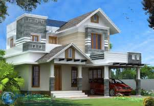 home design styles modern kerala style house design with 4 bhk