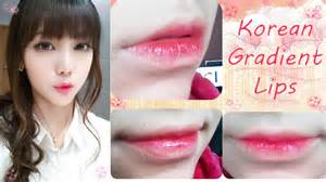 korean gradient lips tutorial youtube