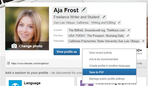 Profiles In Marketing After Mba by Image Gallery Linkedin Profile Page Exles