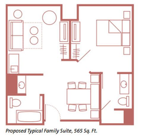 of animation family suite floor plan disney s of animation resort room photos