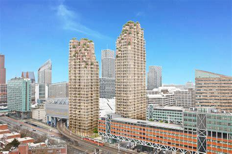 New Farmhouse Plans Mvrdv Plans Twin Grotius Towers For The Hague