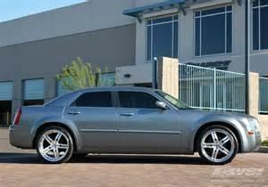 Rims For Chrysler 300c 2006 Chrysler 300c With 22 Quot Vossen Vvs 078 In Silver