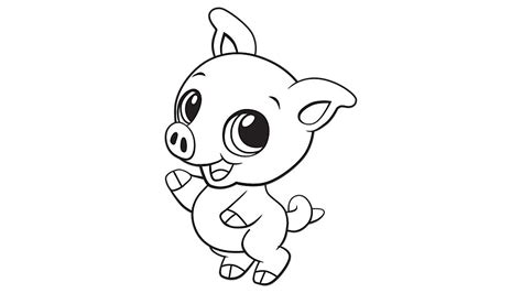 Baby Pig Coloring Pages baby pig coloring printable