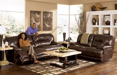 living room sets at ashley furniture ashley leather living room furniture