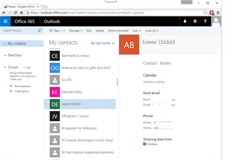 Office 365 Outlook Sync Issues Problem Solved Question Was Outlook Contacts Which