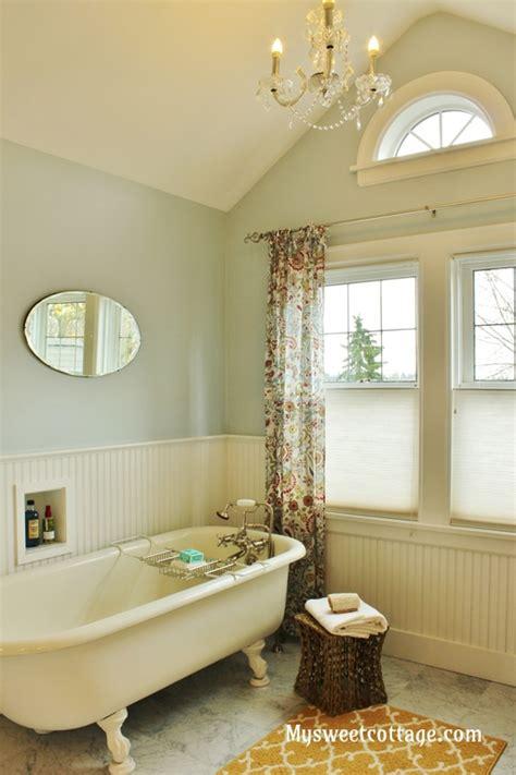 Remodelaholic   Gorgeous 1920's Cottage Master Bathroom