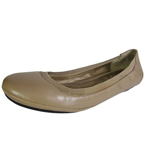 Flat Shoes A S me womens flynn leather ballet flat shoe ebay