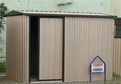maxi with single sliding door garden sheds skyline