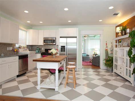 Hand Painted Kitchen Islands photos hgtv