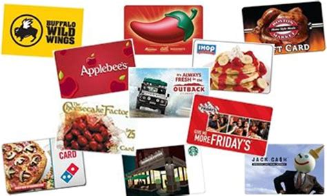 Restuarant Gift Cards - how to repurpose your awful christmas gifts