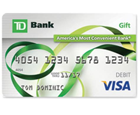 Td Bank Gift Card To Cash - td bank visa gift card review banking sense