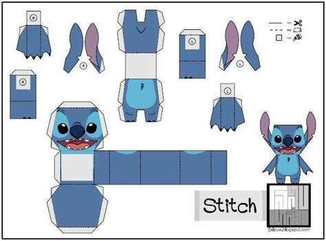 Stitch Papercraft - papermau lillo and stitch stitch paper by