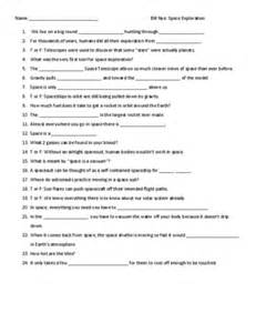 space exploration worksheets davezan
