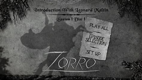 theme song zorro zorro on dvd the treasures series first season