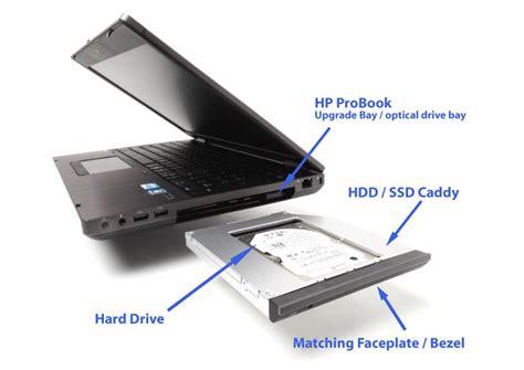 tambah disk kedua pada laptop dengan menggunakan caddy laptop buruk