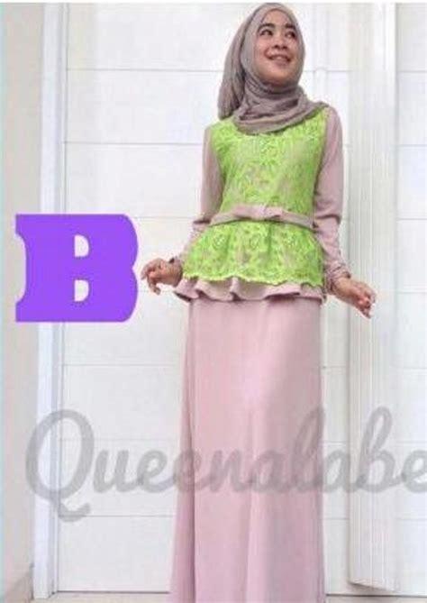 Gamis Pesta Queena Medeline Dress By Queena B Baju Muslim Gamis Modern