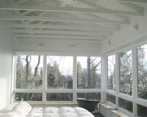 open ceiling screen porch