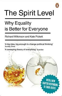 the spirit level why greater equality makes societies stronger 9781608193417 kate pickett inequality and society the spirit level book cambridge forecast group blog