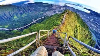 Stairs Hawaii by Stairway To Heaven Hawaii Haiku Stairs Gopro Hero 4