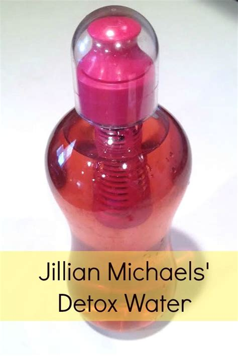 Jillian Michael Detox Water Sheet by Each Day Distilled Water And The Box On