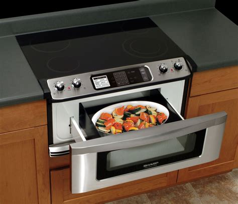 sharp microwave oven drawer specs sharp kb5121ks 30 inch electric cooktop and microwave