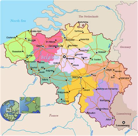 map of europe belgium belgium map in europe images