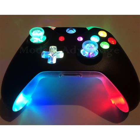 xbox one controller with led lights xbox one controller full color changing led mod