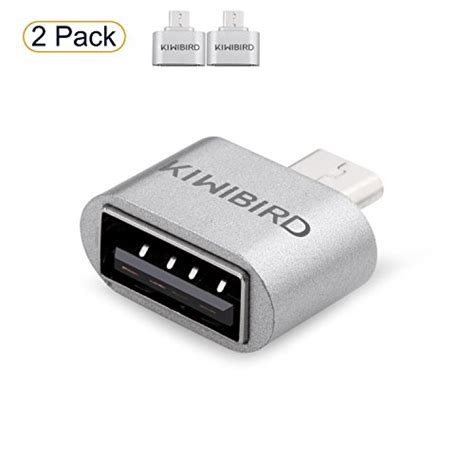 Samsung Galaxy Tab S6e by Kiwibird 174 Micro Usb To Usb 2 0 High Speed Otg Adapter For Android Smartphone