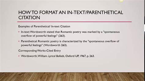 film mla citation exle mla 8 works cited entries youtube