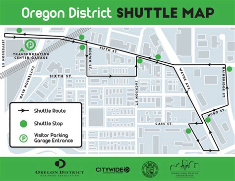 oregon district map the station page 2 of 4 trolley stop dayton
