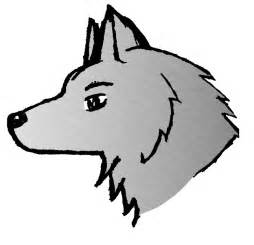simple wolf drawings cliparts co