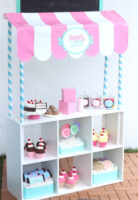 How To Make Sweet Decorations by Diy Pretend Play Sweet Shoppe Damask