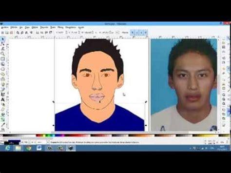 tutorial de como usar inkscape tutorial como hacer una caricatura personal en inkscape