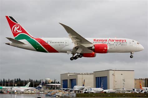 kenya airways  boeing  airways magazine
