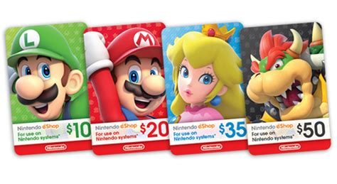 Nintendo E Shop Gift Card - nintendo game store official site buy digital