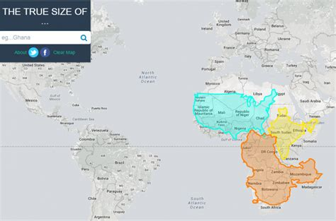 quot the true size quot map lets you move countries around the