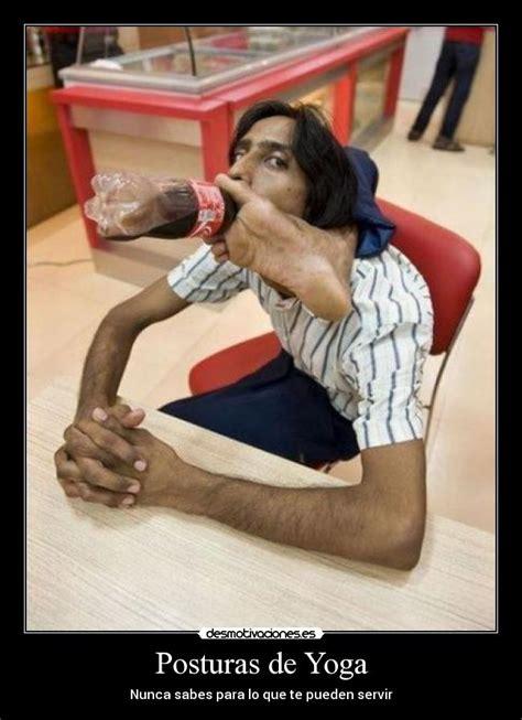 imagenes graciosas sobre yoga posturas de yoga desmotivaciones
