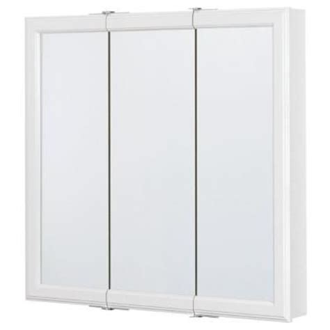 bathroom medicine cabinets home depot glacier bay 30 in w x 30 in h framed surface mount tri