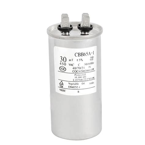 capacitor used in air conditioner repair parts 30uf ac 450v motor capacitor for air conditioner engine syszau