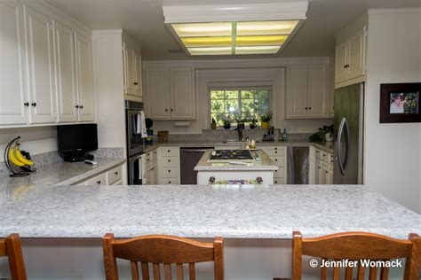 Ideas For White Kitchens by Image Gallery Silestone Pietra