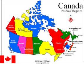 map of canada in with capitals canada capital map