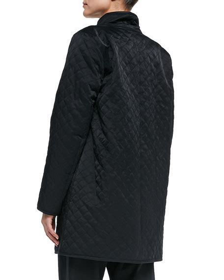 Eileen Fisher Quilted Jacket by Eileen Fisher Quilted Jacket W Fleece Lining