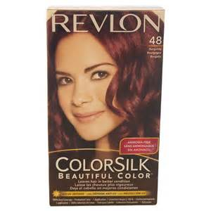 revlon burgundy hair color revlon colorsilk beautiful color permanent hair color 48