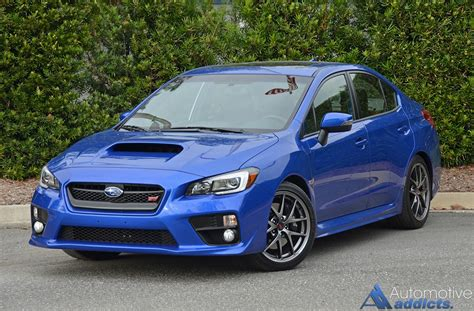 sti subaru 2016 2016 subaru wrx sti limited review test drive