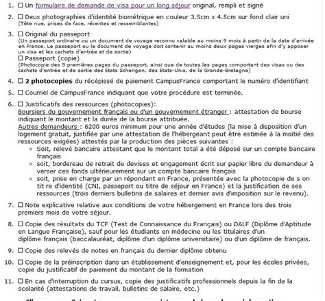 Lettre De Mission Visa Algerie Dossier Visa Algerie