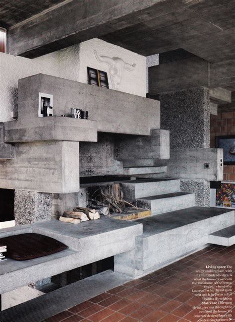Fantastic Fireplaces by 30 Best Images About Exposed Concrete On