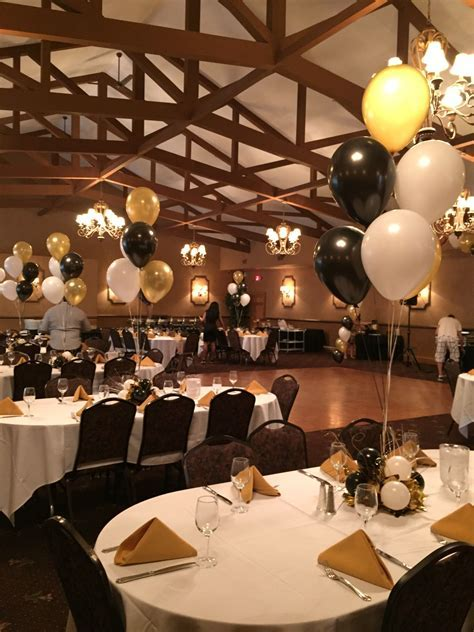 60th birthday looking good in black, white and gold